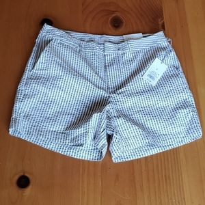 NWT! Striped Women's Chino Shorts